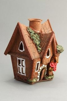 Волшебный мир рукоделия!: Делаем своими руками волшебные домики.