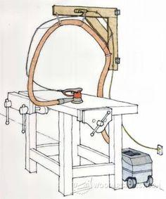 Downdraft Sanding Table Plans - Sanding Tips, Jigs and Techniques   WoodArchivist.com