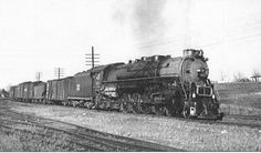 """Central of Georgia K class 4-8-4 """"Big Apple"""". This is one of eight that this railroad had during the steam era, all of them were scrapped however.jpg (630×370)"""