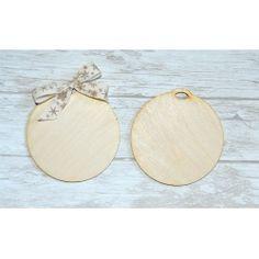 bombka baza drewniana/ wooden ornament