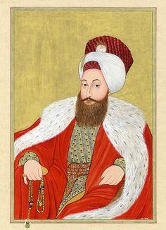 Sultan III. Selim Ottoman Empire, Moorish, Ancient Civilizations, Islamic Art, Art And Architecture, Miniatures, Tapestry, History, Illustration