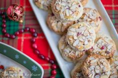 Almond Cranberry Scones - perfectly moist and sweet and great for a special breakfast during the holidays!
