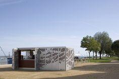 Kiosque Saint-Nazaire by Topos Architecture - Dezeen