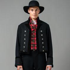 Mannsbunad fra Valdres Norwegian Wedding, Folk Clothing, Norway, Punk, Embroidery, Traditional, Clothes, Style, Fashion