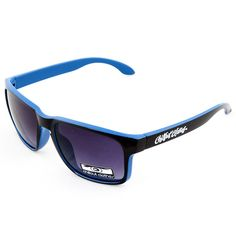 Okulary Chillout Clothes KR Blk Blu Full » Skateshop HipHopShop.pl
