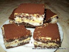 Pandamaci szelet-Nagyon finom kakaós-kókuszos sütemény. - MindenegybenBlog