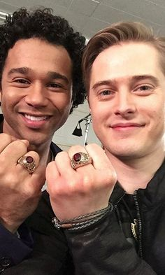 Pin for Later: The Stars of High School Musical Reunite! See All the Cute Pictures Meanwhile, the boys still have their championship rings! High School Musical Reunion, Lucas Grabeel, Corbin Bleu, Ryan Evans, Are You Not Entertained, 10 Anniversary, Disney Fan Art, Disney And Dreamworks, Dumb And Dumber