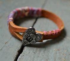 Batik Leather Bracelet