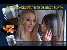 Tendencia Cabello Gris: Cómo Teñir el Pelo de Gris - Mujeres Femeninas