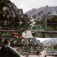 how to sing You're not seen a romatic proposal until you've seen how Jeremy proposed to his girlfriend Katrina at Lago di Braies in the Dolomites. Romantic Surprise, Surprise Proposal, Most Romantic, Romantic Couples, Short Trip, Elopement Inspiration, Beautiful Songs, Elope Wedding, Couple Shoot