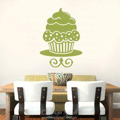 Etiqueta del arte de pared de vinilo Magdalena por DesignSPLASH