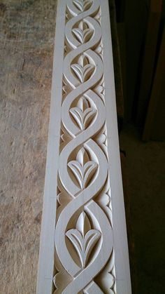 Wood carved frame by Mixalis Bechlivanis - Wood Projects Simple Wood Carving, Wood Carving Faces, Wood Carving Designs, Wood Carving Patterns, Wood Carving Art, Wood Patterns, Wood Art, Stencil Patterns, Design Patterns
