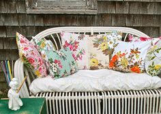 a mix of vintage pillows... | Flickr - Photo Sharing!