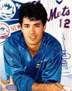 Ron Darling (New York Mets 1986 World Series Champion).  OMG, I was so obsessed w/this man....