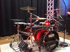 Grover custom drumset Drum Kits, Drummers, Percussion, Dreams, Wall, Walls