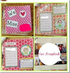 Goodbye gift ideas on pinterest farewell gifts diy for Farewell scrapbook template
