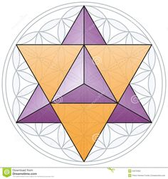 Merkaba And Flower Of Life - Download From Over 54 Million High Quality Stock Photos, Images, Vectors. Sign up for FREE today. Image: 34372352