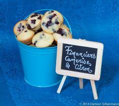 Financiers Camerises et citron Raisin, Muffins, Fruit, Desserts, Cherry, Raspberry, Food Photo, Suppers, Financier