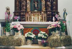 el sofa amarillo decoracion iglesia boda rustica (1)