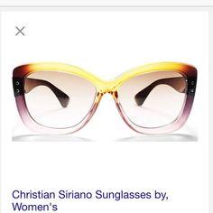 Christian Siriano sunglasses Brand new with bag Christian Siriano Accessories Sunglasses