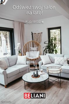 Luxury Homes Dream Houses, Leather Sofa, Home Interior Design, Interior Inspiration, Sweet Home, House Design, Living Room, Furniture, Attic