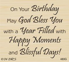 God Bless Birthday Greeting Rubber Stamp by DRS Designs Birthday Verses For Cards, Birthday Card Messages, Birthday Words, Birthday Quotes For Him, Happy Birthday Wishes Quotes, Birthday Card Sayings, Happy Birthday Greetings, Birthday Sentiments, Birthday Blessings