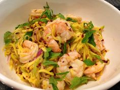 Paleo Thai Mango Shrimp Salad