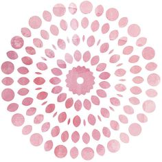 Pink Print Abstract Watercolor Circle Mandala Pink Wall art Nursery... ($10) ❤ liked on Polyvore featuring home, home decor, wall art, backgrounds, pink poster, mandala painting, pink peony painting, pink home decor and printable wall art