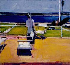 Richard Diebenkorn-one of my favorites in the de Young exhibition in San Fran.