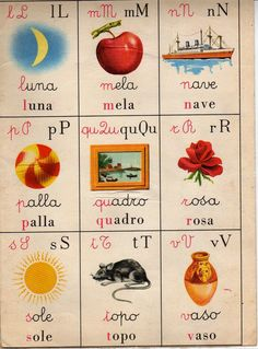 Hobbies Questions And Answers Vintage Labels, Vintage Cards, Vintage Posters, Childhood Toys, Childhood Memories, Nice Memories, Italian Alphabet, Non Plus Ultra, Alphabet Cards