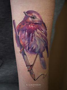 Little song bird tattoo