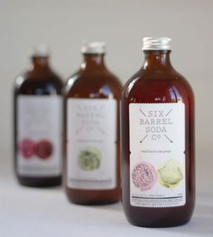 Six Barrel Soda | Beautifully crafted soda syrups made in Wellington | With filtered water, fair trade organic cane sugar, fresh fruit, spices & nuts | YUM