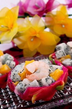 Chinese New Year Dragon Fruit Prawn #Salad ( 新春龍珠果沙拉 ) Featured in Asian Food Channel! #cny2016