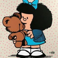 Mafalda Quotes, Cartoon Wall, Thinking Quotes, Christmas Embroidery, Cute Characters, Illustrations And Posters, Betty Boop, Comic Strips, The Dreamers