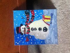 Christmas Painting (Acrylic)