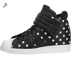 adidas WOMENS SUPERSTAR UP STRAP SNEAKER Black - Footwear/Sneakers 10 - Adidas sneakers for women (*Amazon Partner-Link)