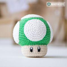 """1Up Mushroom (""""Super Mario World"""")   Craftsy"""