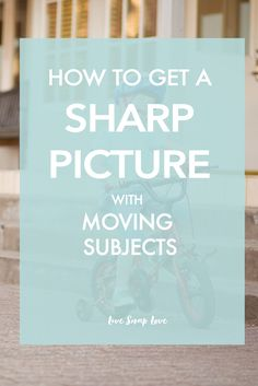 """One question I get a lot is how to get your subject sharp and perfectly in  focus, even when they are moving. This can be tricky, especially if your  subject is a child - the movements tend to be more erratic and therefore  harder to pin down! However, if you follow some simple tips, you should  increase the number of """"keepers"""" you get - here's my tips for taking sharp  photos of moving subjects.."""