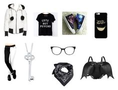 """my outfit"" by luna-ut ❤ liked on Polyvore featuring Hot Topic, HVBAO, Chico's, Moose Knuckles and MANGO"