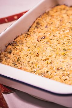 Semmelfülle aus dem Ofen Macaroni And Cheese, Ethnic Recipes, Souffle Dish, Brot, Salads, Side Dishes, Mac And Cheese