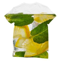 Gin and Tonic T-Shirt - Poured over ice and garnished with lime, make it a double! The shirt is made of high quality polyester which allows us to achieve photorealistic quality allover the shirt on the front and back. Gin And Tonic, Summer Collection, Lime, Ethnic Recipes, T Shirt, Clothing, Outfit, Lima, Tee