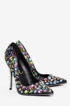 Privileged Ruiz Jeweled Heel - Heels | All Party (affiliate)                                                                                                                                                                                 More