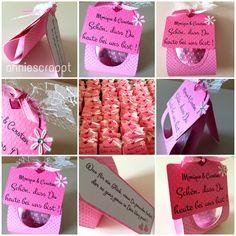 annie scrappt - rund ums Papier und noch viel mehr: Hochzeiten sind schön - und voller rosa Tupfen!