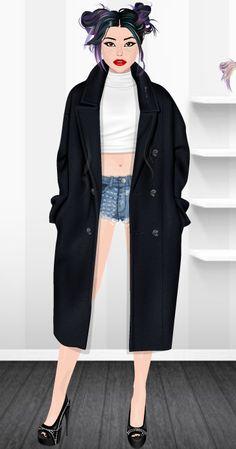 Fashion Stardoll  Jogo de Moda @rafaela.liberal Stardoll : rafaela_liberal Duster Coat, Jackets, Fashion, Fashion Games, Dress Games, Latest Fashion, Toddler Girls, Celebs, Down Jackets