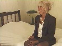Hairy Blonde Milf In Stockings F...