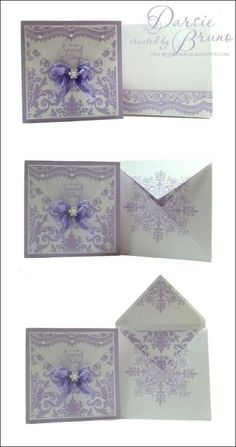 How to create envelopes for dimensional cards by Darsie Bruno | JustRite Papercraft Inspiration Blog