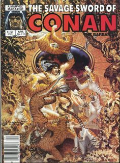 Savage Sword of Conan 111