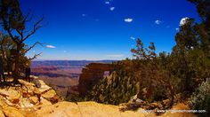 Location - Grand Canyon, AZ. Filmed at Angels Window on the North Rim. lets-see-america.com