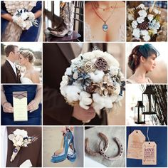 Perfect Idea For A Brown Wedding Color Theme