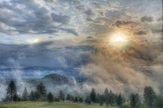 Blue Mountain Mist  By Mark Mesenko